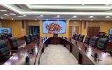 枣庄市市政府会议室LED会议屏